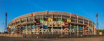 Stadion Feyenoord Rotterdam van Ilya Korzelius