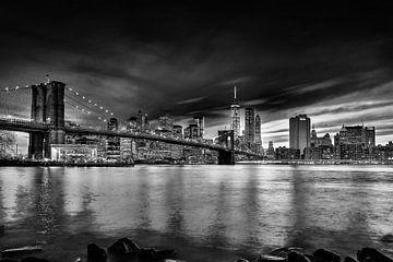 New York, New York - schwarz und weiß von Patrick Ouwerkerk