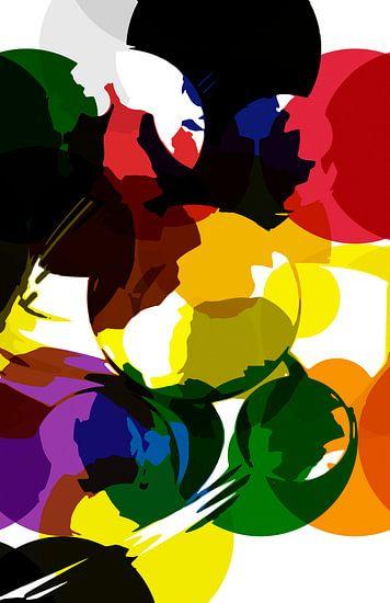 Colorful Bubbles van Rosi Lorz