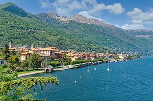 Cannobio sur le lac Majeur, Piémont sur Peter Eckert