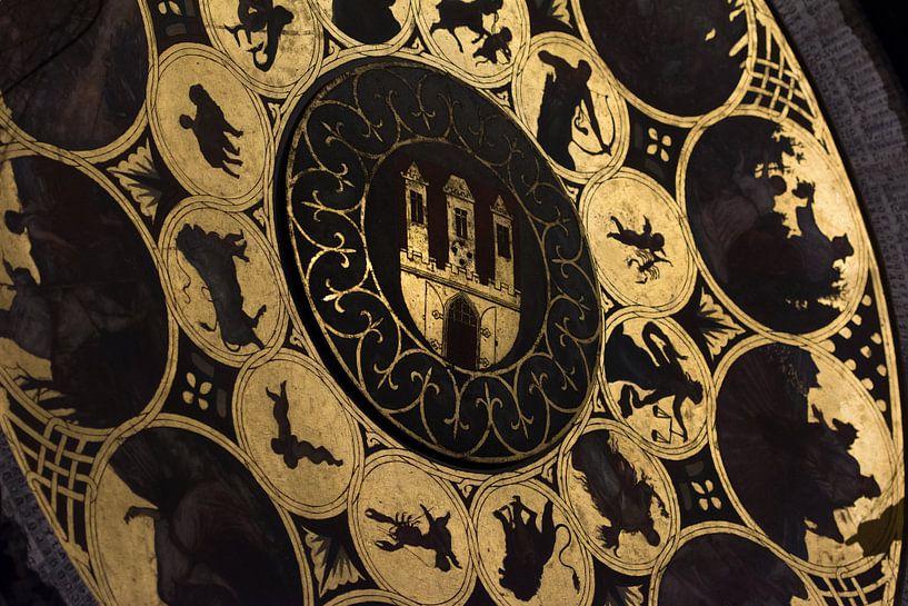Astronomische Klok detail van Ronne Vinkx