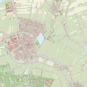 Kaart vanAlphen aan den Rijn