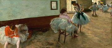 Tanzkurs, Edgar Degas - ca. 1879