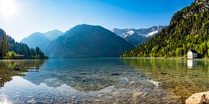 Alpensee am Morgen