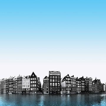 Damrak Amsterdam van willemien kamps