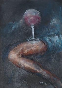 Ein Glas Wein, meine Liebe? von Ineke de Rijk
