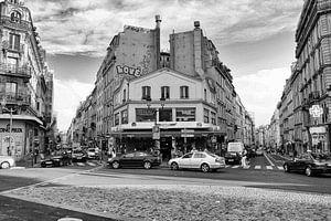Parijs, Montmartre. van