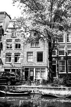 Nummer 1 Egelantiersgracht 54 Huis B&W Artistic sur Hendrik-Jan Kornelis