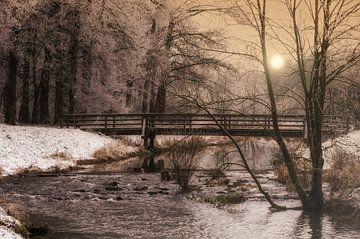 Brücke am Fluss von