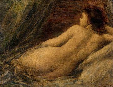 Liegender Akt, Henri Fantin-Latour