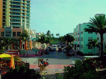 Oceandrive, Miami Florida van Alex Hilligehekken