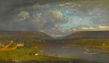 Sur le fleuve Delaware, George Inness