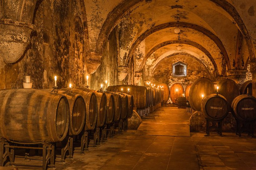 Historischer Weinkeller des Zisterzienserkloster Eberach van Christian Müringer