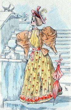 Mode 1894,  Mode in het negentiende-eeuwse Parijs, Henri Boutet, (1851 1919)