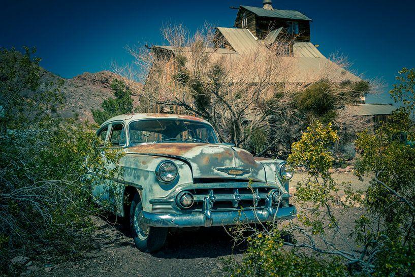 Chevrolet, oude auto van Inge van den Brande