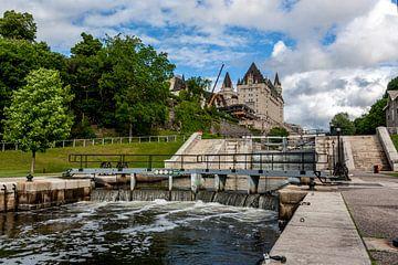 Rideau-sluizen in Ottawa, Canada von Stephan Neven