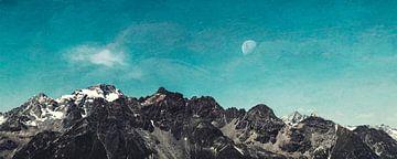 Bergrücken Lombardei Italien von Dirk Wüstenhagen