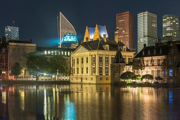 Skyline Den Haag met hofvijver von Karin Riethoven