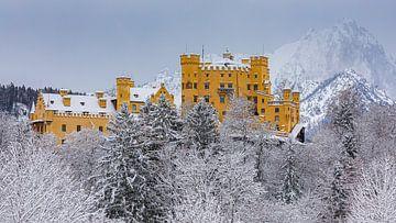 Kasteel Hohenschwangau, Allgau, Beieren, Duitsland van Henk Meijer Photography