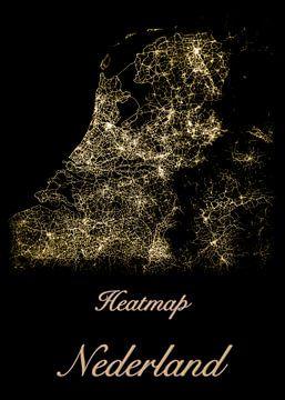 Heatmap Nederland van Geert-Jan Timmermans