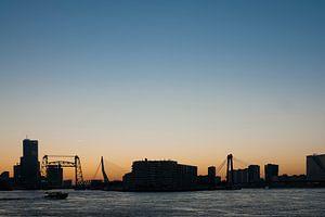 De drie bruggen in Rotterdam
