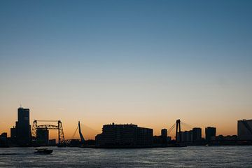 De drie bruggen in Rotterdam van Ed van Loon