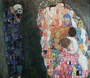 Gustav Klimt. De dood en het leven