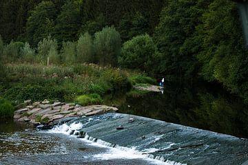 Flussufer Belgien von Chantal van der Hoeven