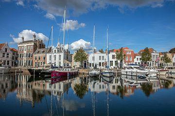 Hafen von Goes von Lisette van Peenen