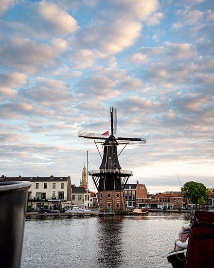 De molen de Adriaan in Haarlem