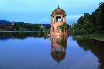 Tempel im Seepark Freiburg von Patrick Lohmüller