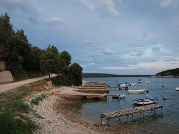 Baai aan Adriatische kust van Rinke Velds