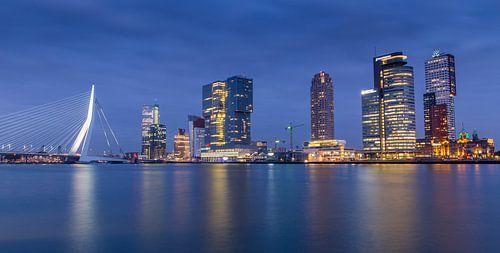 Rotterdam Skyline @ Night van