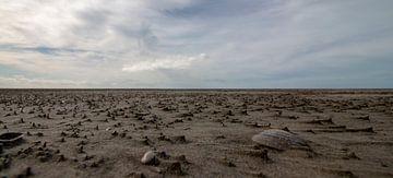 Rottumeroog - het strand valt droog von Studio de Waay