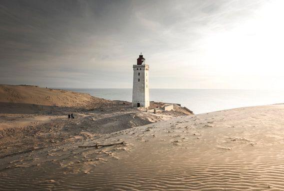 Rubjerg Knude vuurtoren, Denemarken