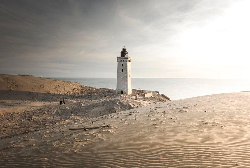 Rubjerg Knude vuurtoren, Denemarken van Claire Droppert