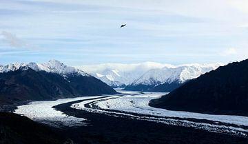 Matanuska-Gletscher Alaska von Nathan Marcusse