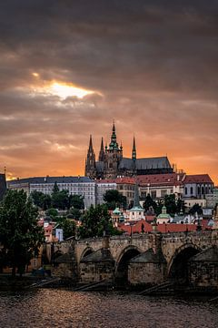 Prague Castle 4 von Iman Azizi