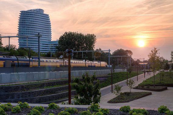 Zonsondergang Station Europapark