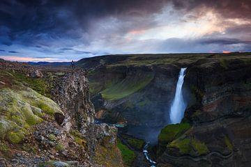 Haifoss, Iceland sur Sven Broeckx