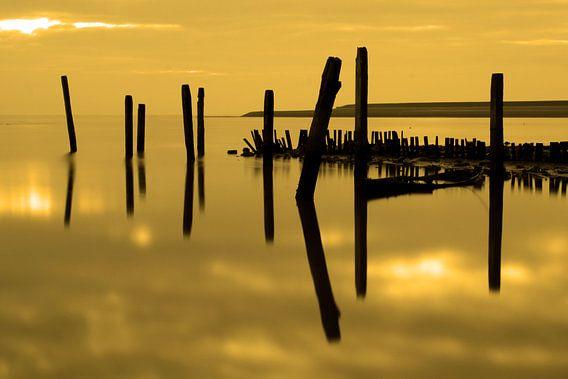 Zonsondergang op Texel van Antwan Janssen