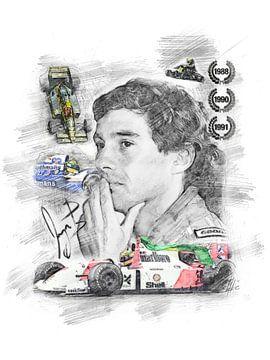 Ayrton Senna von Theodor Decker
