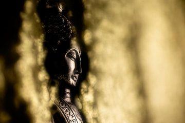 Gouden Boeddha van Uwe Merkel