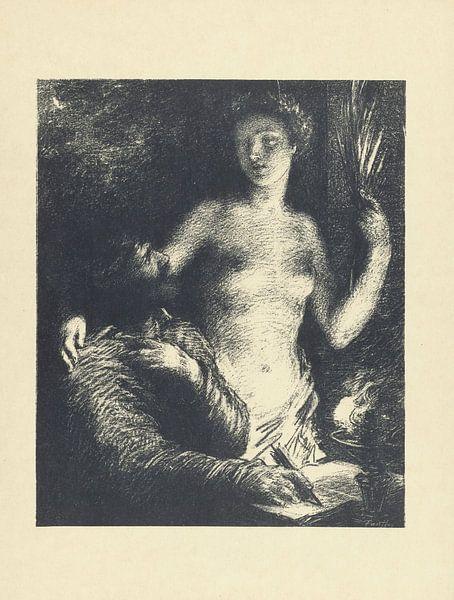 Inspiration Die Prüfung, Henri Fantin-Latour, 1895 von Atelier Liesjes