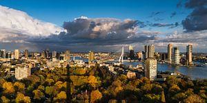 Skyline Herfst in Rotterdam Panorama 2:1