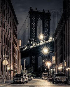 Pont de Manhattan à Dumbo Brooklyn