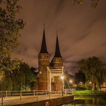 Delft Oostpoort 5 van John Ouwens