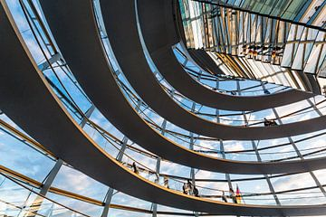 Kuppel Reichstagsgebäude von Steve Van Hoyweghen