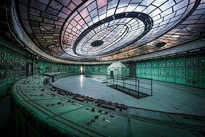 De controle kamer van Jeroen van Dam