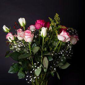 Blumen in Vase von Fotografie Ronald